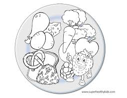 Coloring Pages Of Food Labels