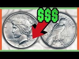 1923 Peace Silver Dollar Value Chart Rare Silver Dollar Coins Worth Money Peace Dollar Values