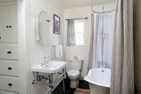 burlap shower curtain bathroom eclectic with claw foot dark floors freestanding bathtub