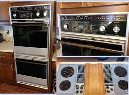 vintage thermador double oven vintage