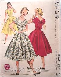 1950s Dress Patterns Classy My Vintage Pattern Collection 48s Custom Style