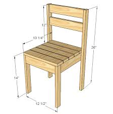 simple wooden chair. Dimensions: Simple Wooden Chair T