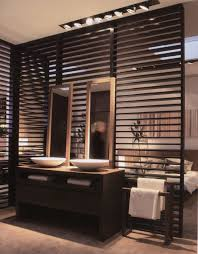 Bathroom Partition Walls Wooden Partition Wall Between Bathroom And Bedroom Addition