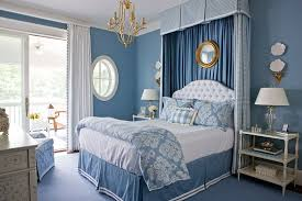 Gorgeous Blue and White Bedroom