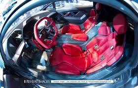 lamborghini sesto elemento inside. inside of the one-of-a-kind lamborghini sesto elemento concept car. l