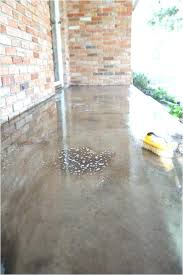 removing mastic from concrete surface