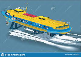Hydrofoil Stock Illustrations – 76 Hydrofoil Stock Illustrations, Vectors &  Clipart - Dreamstime