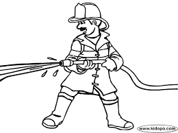 Small Picture Fireman Truck Colouring Pages Bebo Pandco