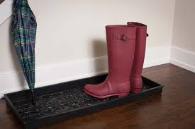 Decorative Boot Tray BirdRock Home Rubber Boot Tray 100 inch Decorative Boot Tray 55
