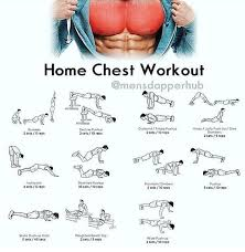 Home Chest Workout Chest Workout At Home Gym Workouts