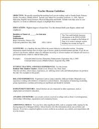 Resumes Objectives Resumes Objectives For Teachers List Of Sample Resume Objective 40