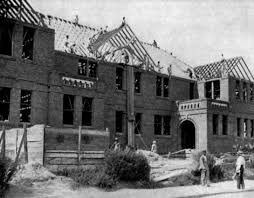 home office jarrett construction. Tuskegee Institute Administration Building Under Construction, Ca. 1901 Home Office Jarrett Construction V