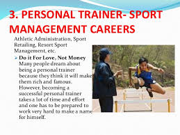 Sports Management Careers Careers And Professional Considerations In Physical
