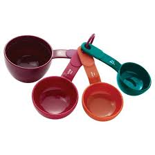 KitchenAid® Measuring Cups Plastic <b>4 Piece Set</b> : Target