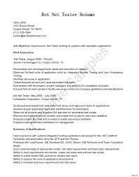 cover letter description junior qa engineer cover letter tester job description helpful for