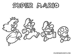 Small Picture Best Mario Brothers Coloring Book Contemporary New Printable