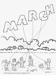 Small Picture March Monthly Coloring Pages 24201 Bestofcoloringcom