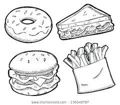 Free Food Coloring Pages Fast Food Coloring Pages Fast Food Coloring