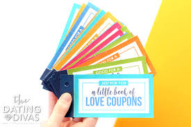Relationship Coupon Book Diy Love Coupons For Him From The Dating Divas