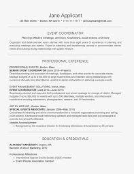Event Planner Resume Template Natashamillerweb Coordinator