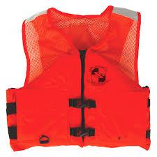 Stearns Work Zone Gear Medium Orange Life Vest