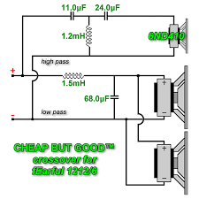 passive crossover wiring diagram passive crossover wiring fearful passive crossovers by greenboy passive crossover wiring diagram