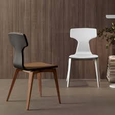 dining chairs contemporary. High Back Wooden Dining Chair Best Of Palazzo Faux Leather Chairs Contemporary Style