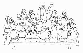 Small Picture Unique Last Supper Coloring Page 16 About Remodel Coloring Site