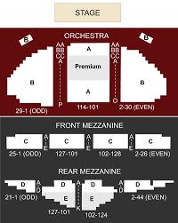 Ambassador Theatre Seating Chart Ambassador Theater New York Ny Seating Chart Stage