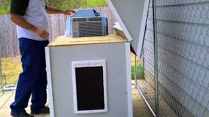air conditioned dog house