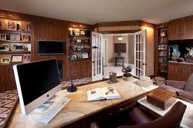 nice home office. Office French With Wooden Roman Shades Home Contemporary And Walls Nice T