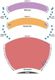 Whitney Hall At The Kentucky Center Tickets Seating Charts
