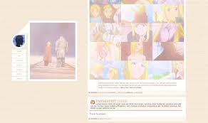 Tumblr Anime Themes Theme Hunter Ovelias Theme 007 Alchemy Code Preview