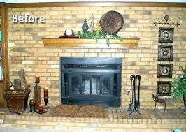 painted brick fireplace colors painted brick fireplace yellow brick fireplace wall color paint brick fireplace diffe painted brick fireplace colors