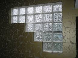 why we should use glass block for bathroom glass block window construction