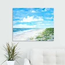 beach wall canvas art australia day at the by design style marvellous multi color 30x