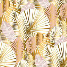 Gold Palm Leaves Wallpapers - Top Free ...