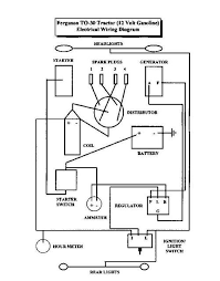 ferguson t20 wiring diagram massey 135 diagrams \u2022 free wiring lucas rb108 voltage regulator at Ferguson T20 Wiring Diagram