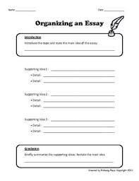 images about essay templates graphic organisers on pinterest    organizing an essay   writing template   graphic organizer