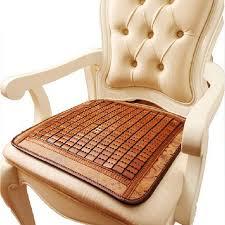 computer chair seat cushion. Bamboo Cushion Mahjong Liangdian Home Computer Chair Car Seat Two Sides I