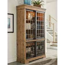 rustic curio cabinet. Plain Rustic Rustic Wheat Brown Curio Cabinet  Coming Home Intended P