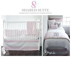 grey toddler bedding pink and white uk quilt