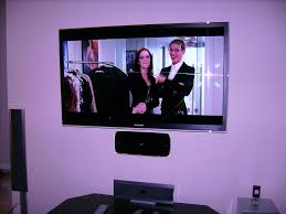 55 samsung lcd tv with samsung wall mounted blu ray player