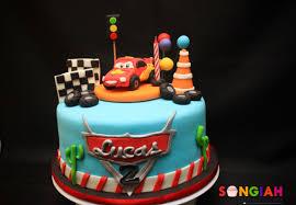 Songiah Lucas Disney Cars Birthday Cake