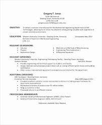 Awesome 37 Engineering Resume Examples Linuxgazette