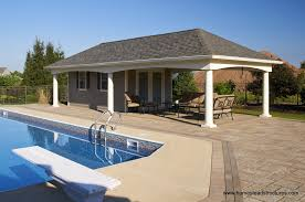 pool house. Perfect Pool 14u0027 X 36u0027 Custom Avalon Pool House Vinyl  For