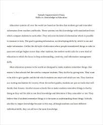 essay in doc sample argumentative