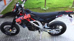 brand new aprilia sxv 450 2014 road legal supermoto by