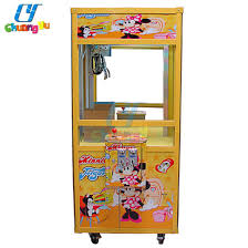 Crane Toy Vending Machine Interesting China Coin Operated Toy Crane Claw Vending Game Machine China Toy