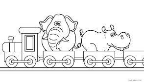 Train Coloring Pages Free Printable Train Coloring Pages The Train